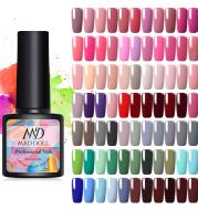 Nail polish phototherapy adhesive