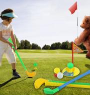 Parent child toy Golf Set