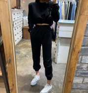 Two-piece short-sleeved casual trousers