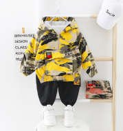 Wild casual camouflage children's clothing