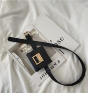 Small belt small bag