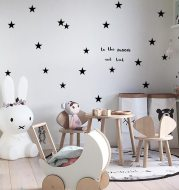 Star Creative Combination PVC Wall Sticker