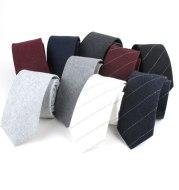 Striped fashion casual tie