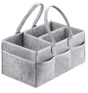 Baby foldable felt storage bag