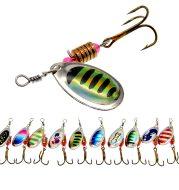 Metallic sequin multicolor bait