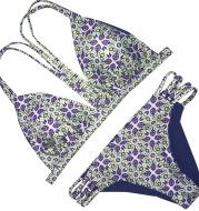 Women's double-sided printed swimwear