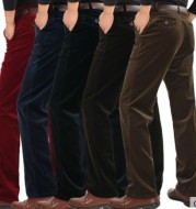 Men's elastic flannelette