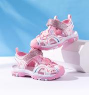 Soft bottom children's beach shoes