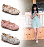 Girls flat princess shoes
