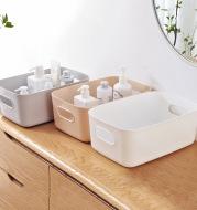 Desktop storage box bathroom cosmetics shelf
