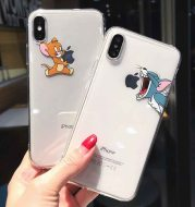 Cat and mouse relief phone case