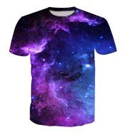 Digital printed short-sleeved T-shirt
