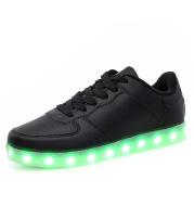 Fluorescent shoes