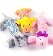 Plush vocal toy