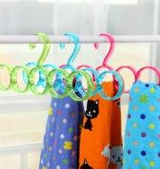 Clothes scarf storage rack