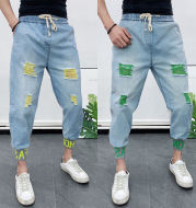 Men's Fashion Hole-piercing Jeans