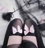Alluring hot thigh socks
