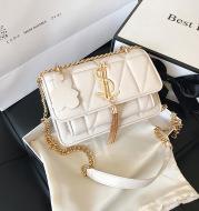 Korean fringed shoulder bag female fashion chain crossbody bag