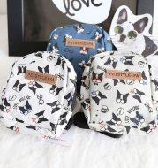 Dog backpack pet leash bag