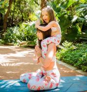 Parent-child yoga pants
