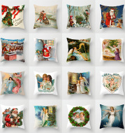 Holiday home decoration cushion cover
