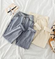 Xuanya straight jeans