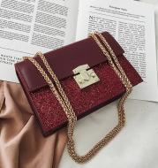Chain shoulder messenger small square bag