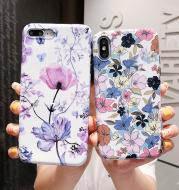 Silicone anti-fall mobile phone case