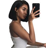 natural black straight hair wig