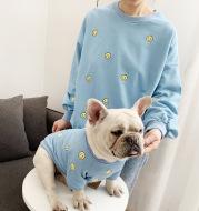 Smiley embroidered sweatshirt