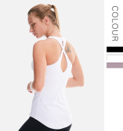 European and American yoga clothing tops