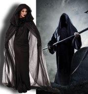Halloween Costume Witch Robe Cosplay Uniform