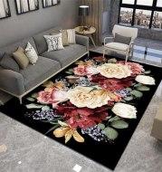 Bedroom bedside carpet