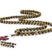 Natural sandalwood beads