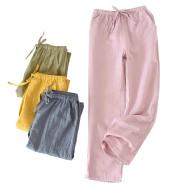 Spring and Autumn Muji Couple Pajamas