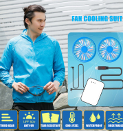 Smart cooling fan air condition cloth