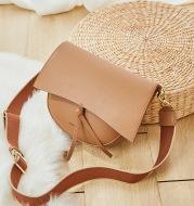 Semicircular retro saddle bag