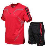 Casual sports suit men's summer two-piece suit