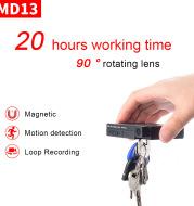 24-hour battery life DV rotating camera portable camera