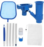Swimming pool cleaning tool set