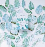 Mint diary hand account sticker
