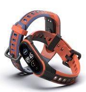 Sports two-tone silicone wristband