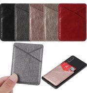 PU leather mobile phone sticker
