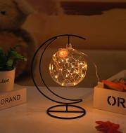 LED light wish bottle