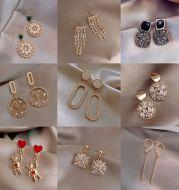 925 Sterling Silver Earrings Pearl Long Earrings