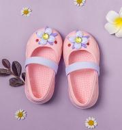 Cute non-slip soft bottom hole shoes