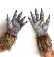 Latex Werewolf Gloves