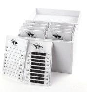 White Acrylic Eyelash Storage Box