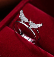 Wings Forest Angel Wing Ring