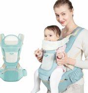 Multifunctional stool holding baby artifact